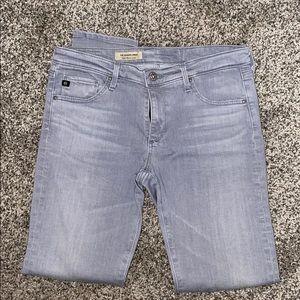 Adriano goldschmied gray jeans